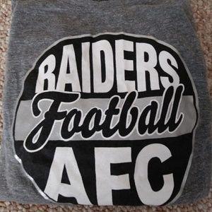 Raiders long sleeve Tshirt